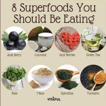 Erinevad kasulikud toiduained - 8 supertoitu, mida peaksid sööma