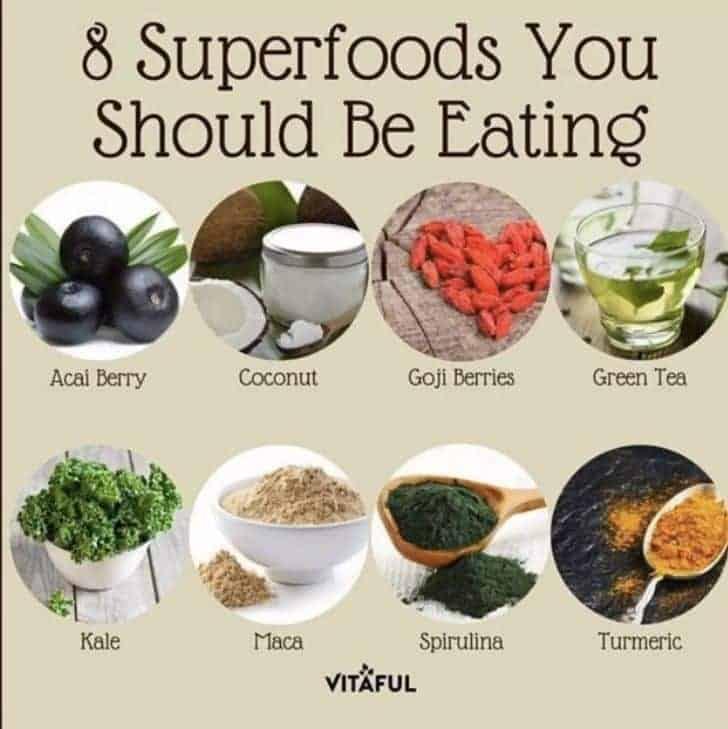8 supertoitu, mida peaksid sööma